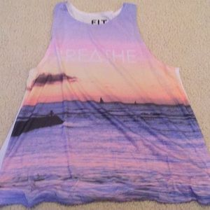 Fit tank top Size Large